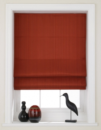 Sheba Red Window blind