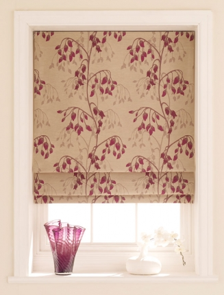 Willowy Amethyst Window blind