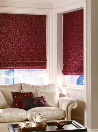 Leanne Peony Window blind