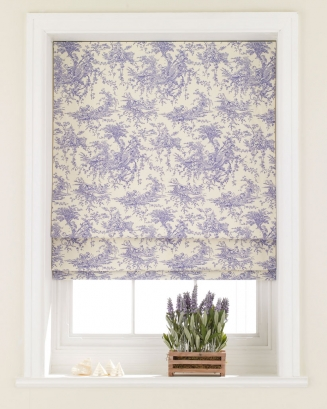 Toille Trench Blue Window blind