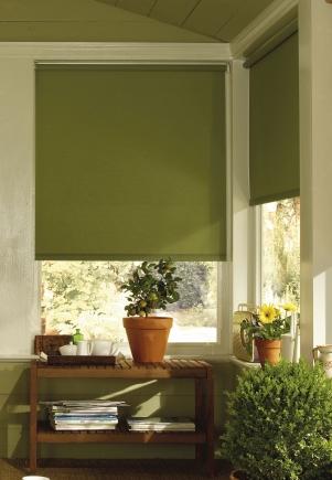Acacia Olive Window blind