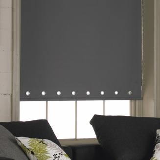 Acacia Grey Eyelets Window blind