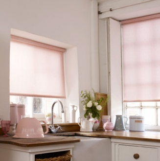 Lotus Faded Pink Window blind