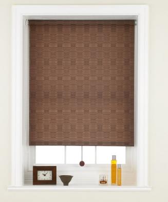 Macey Coffee Window blind