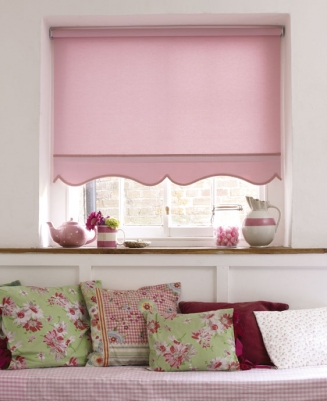 Acacia Mallow Window blind