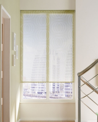 Utah Soft Lime Window blind