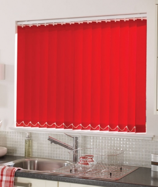 Acacia Pillarbox Window blind