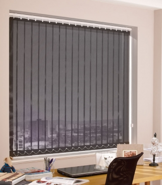 Masquerade Charcoal Window blind