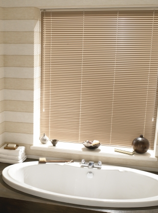 Latte bathroom Window blind