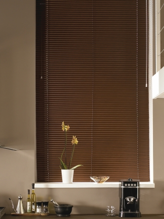 Mahogany Aluwood Window blind