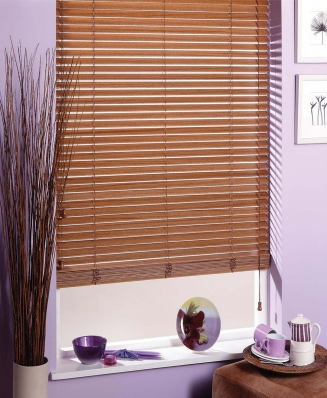 Pecan Express Window blind