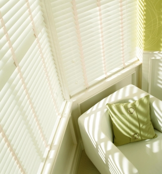 Alder White Sherwood Range Window blind