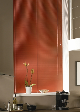 Russet Window blind