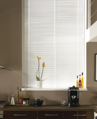 White Window blind
