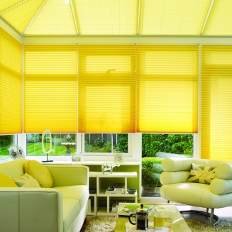 Metropol Yellow Window blind