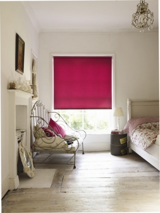 Acacia Raspberry Window blind