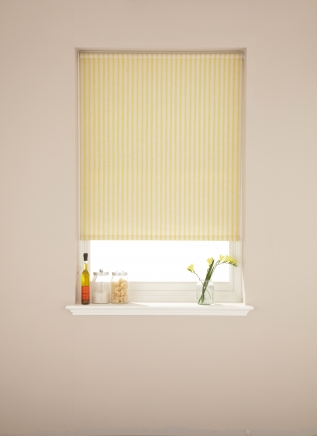 Ticking Yolk Window blind