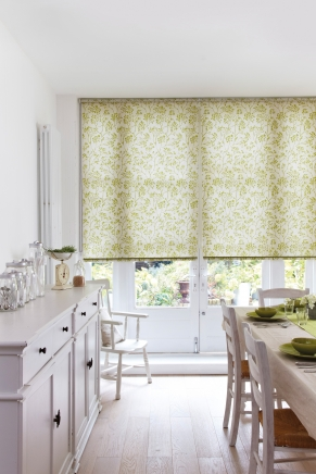 Batiste Green Window blind