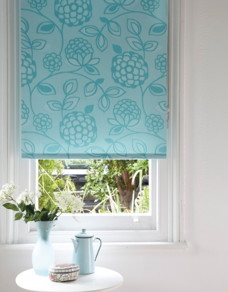 Huckleberry Teal Window blind
