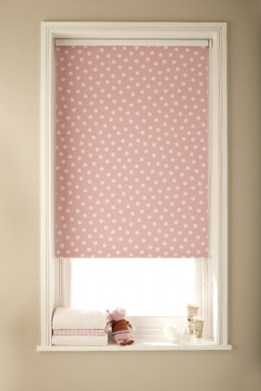 Itsy Pink Blackout Window blind