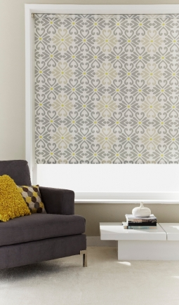 Montezuma Light Grey Window blind
