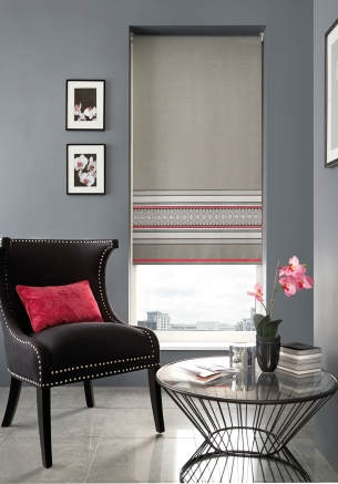 Normadic Pink Window blind