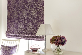 Constantina Purple Window blind
