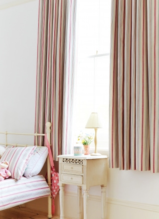Classic stripe chintz Window blind