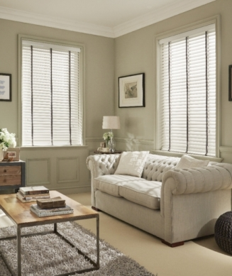 waxed Window blind