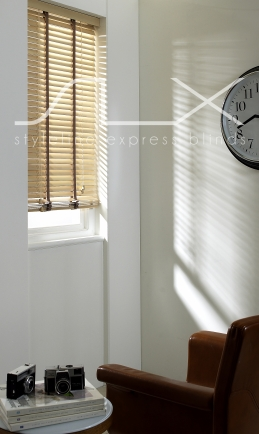 35 linen with 19mm Tape Window blind