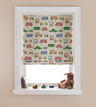Motor Madness Window blind