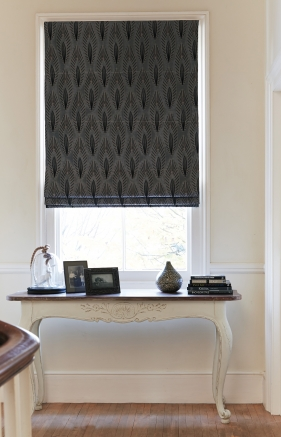 Shalimar Graphite Window blind