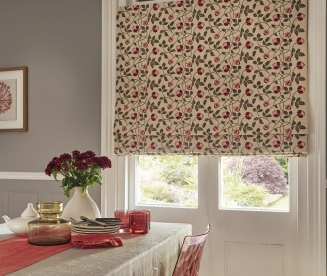 Salinas Red - New Range 2016 Window blind