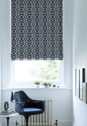 Ezra Charcoal - New Range 2016 Window blind