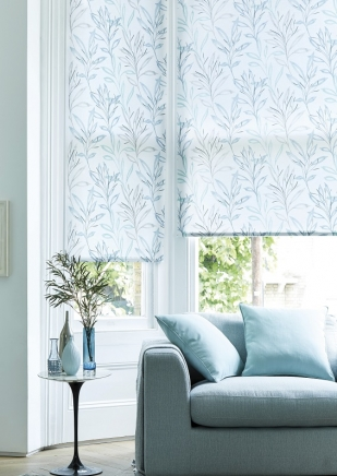 Arabella Teal - New Range 2016 Window blind