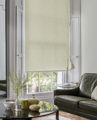 Flora Ivory - New Range 2016 Window blind
