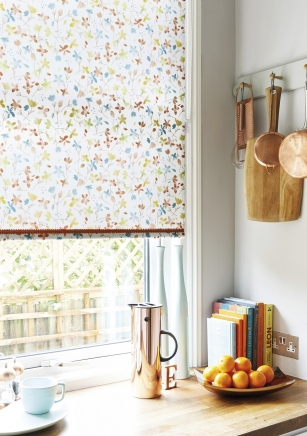 Flossie Apricot - New Range 2016 Window blind