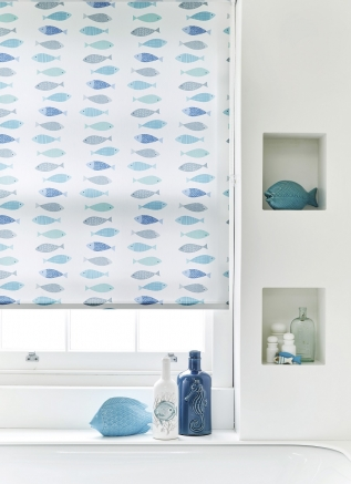 Gone Fishing - New Range 2016 Window blind