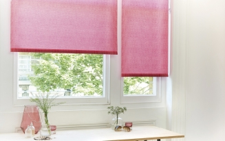 Mallory Hot Pink - New Range 2016 Window blind