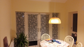 Teardrop Bijoux Window blind