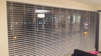 3.7 meter Fauxwood Snow 3 Blinds Dublin 1 Window blind