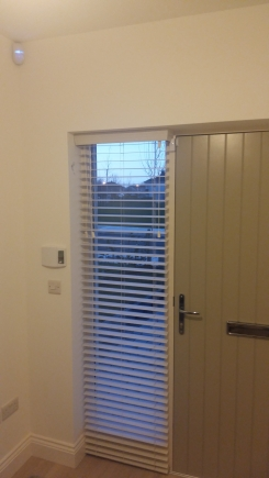 Fauxwood Snow Naas Kildare Window blind