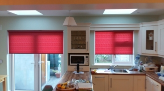 Prunella Claret Celbridge Window blind