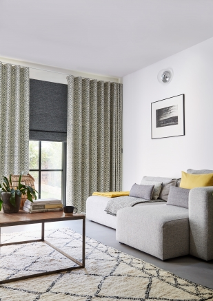 Lennox Charcoal - New Range 2018 Window blind