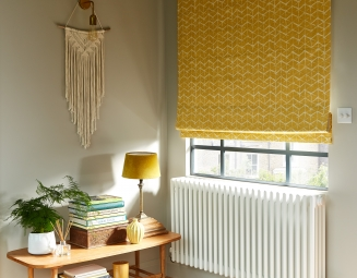 Calypso Mustard - New Range 2018 Window blind