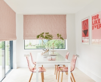 Rise Blush - New Range 2018 Window blind
