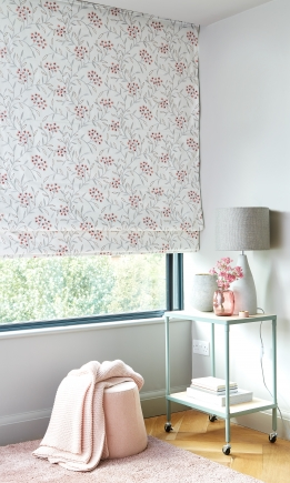 Ornella Blush - New Range 2018 Window blind