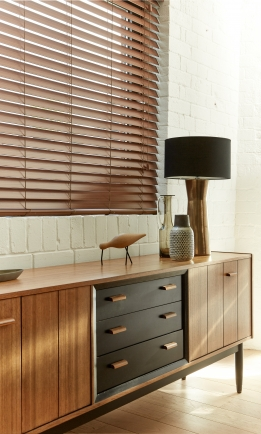 Fauxwood Tenne2 Window blind