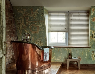 Flint Fauxwood3 Window blind