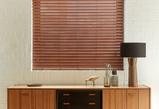 Tenne Fauxwood Window blind